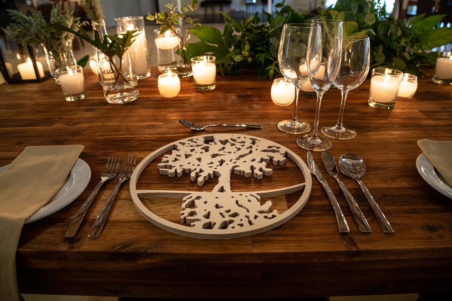 Main Venue main table setting